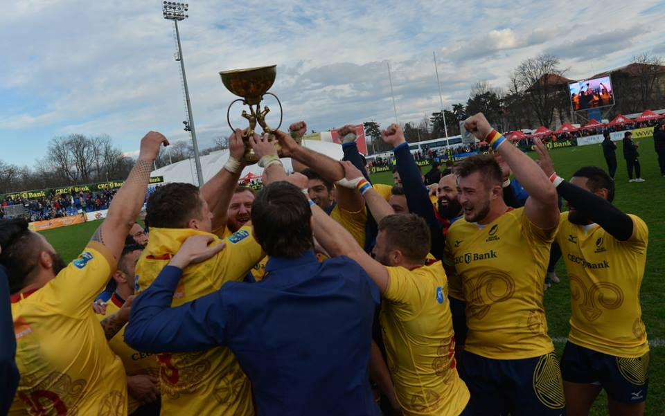 Rugby Romania castiga cu Georgia martie 2017