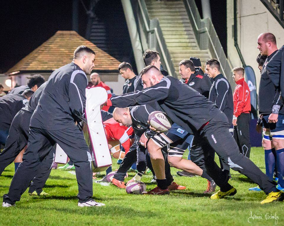 rugby Timisoara antrenament
