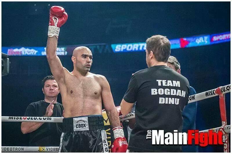 Bogdan Dinu victorios