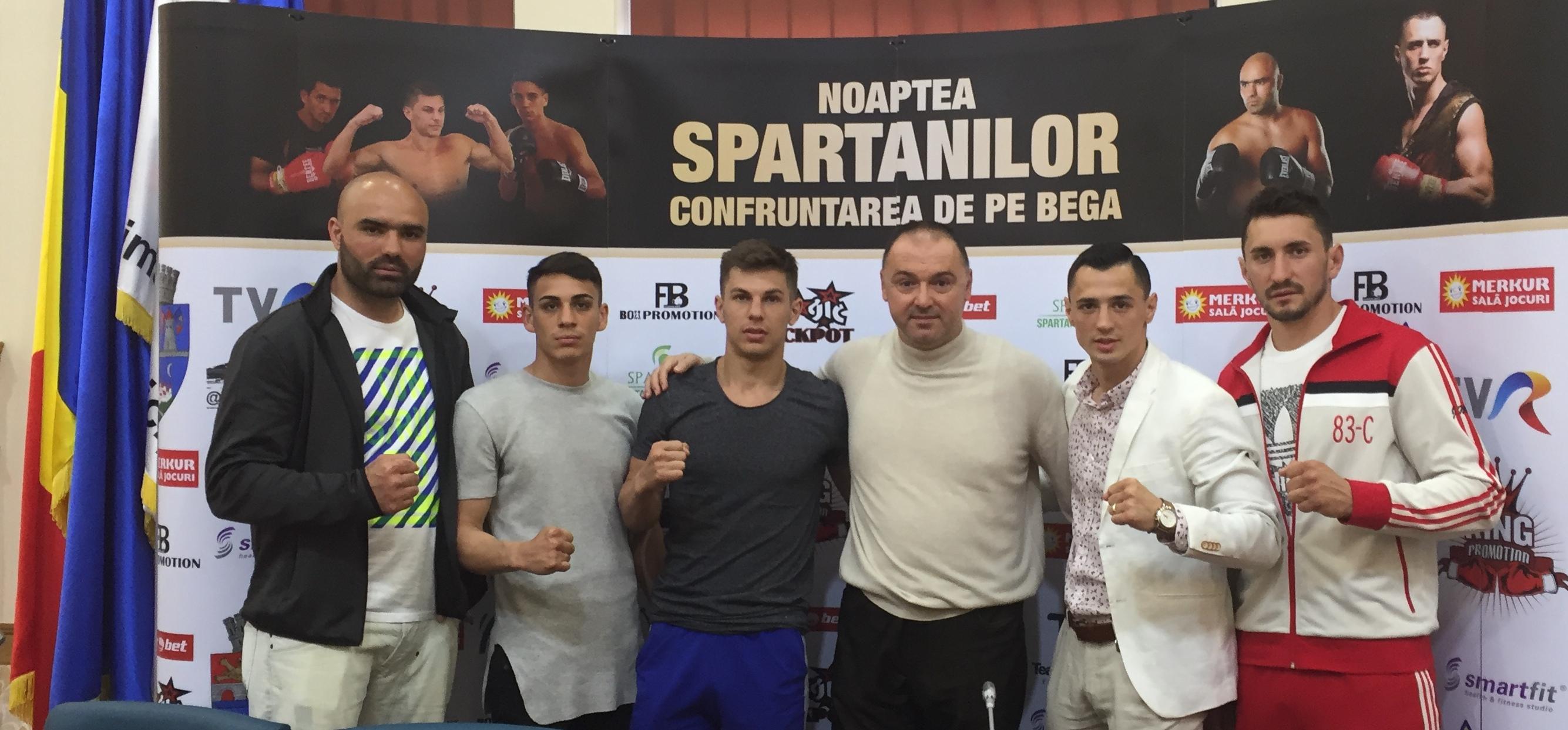 Box Noaptea Spartanilor