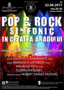 Afis concert pop