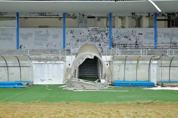 stadionul unirea urziceni ruina