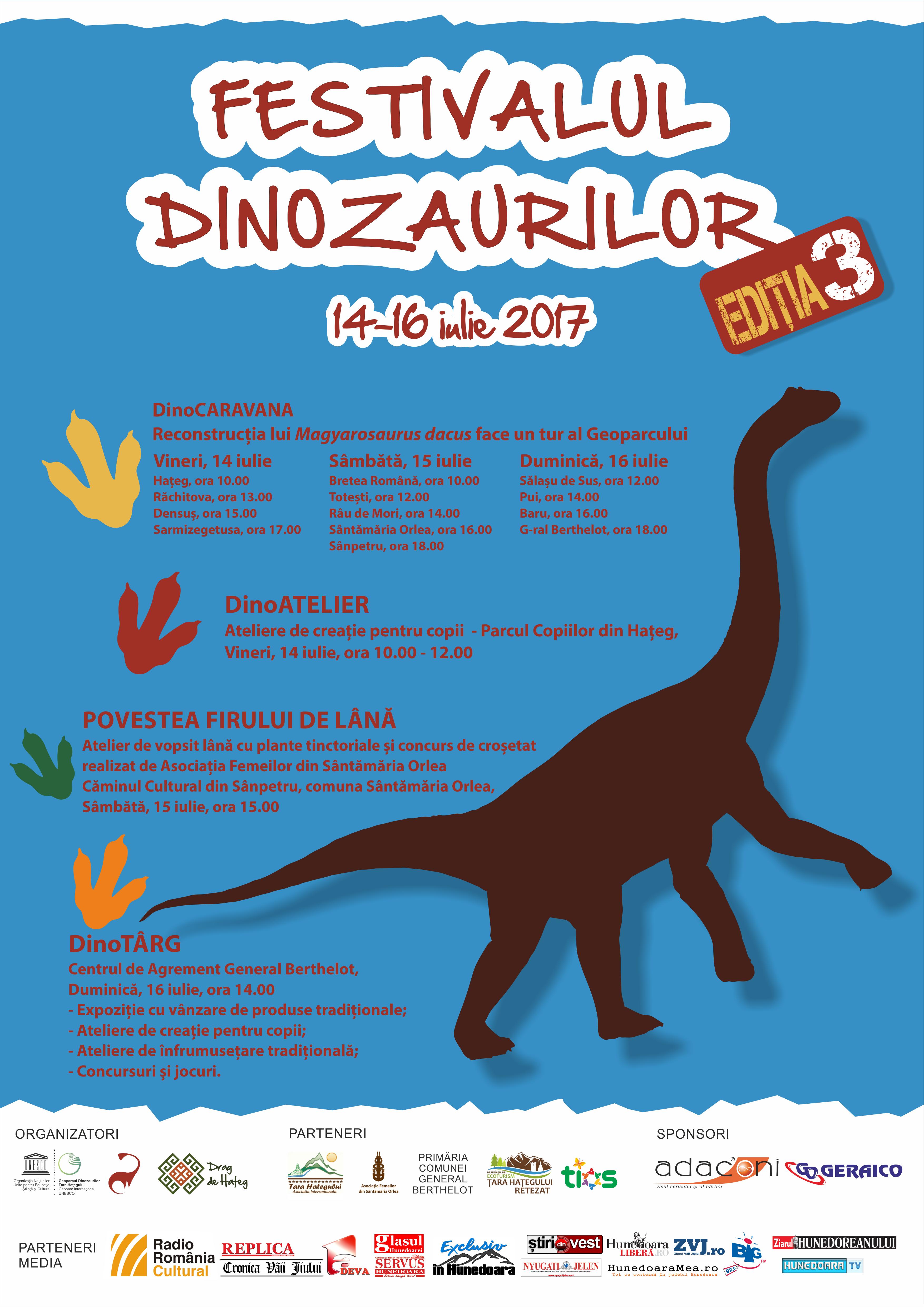 festival dinozauri