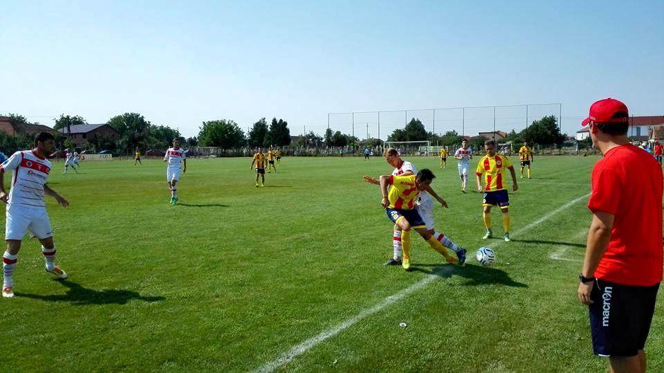 fotbal amical UTA Ripensia