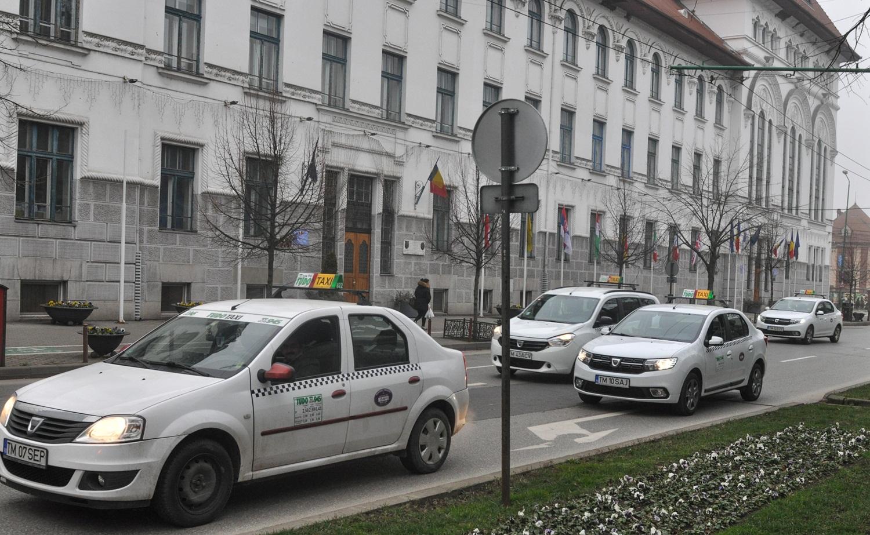 Protest Taximetristi: Primarul Robu, Către Taximetriști: Dacă Ei Consideră Că