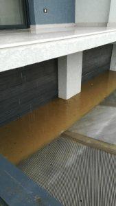 Inundatie strada Diminetii