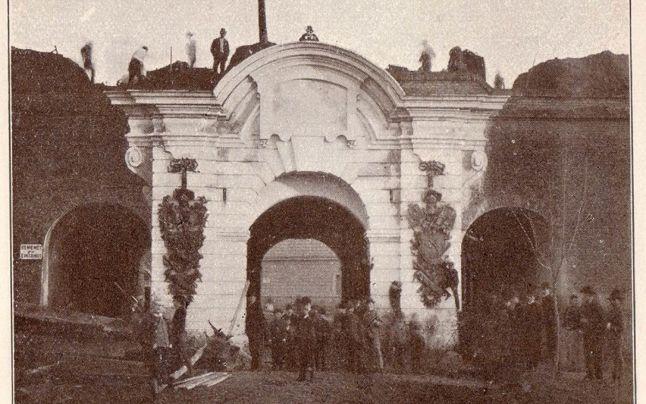 Poarta Vienei. FOTO arhivă Valentin Luca