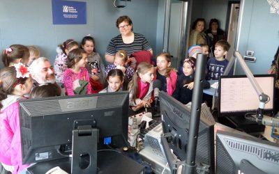 Clasa I - Scoala 20, în direct la Radio Timișoara, 16 apr 2019