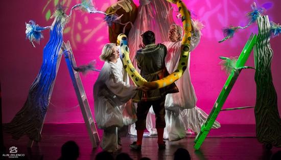 Spectacole cu Teatrul Merlin la Ziua Județului Timiș